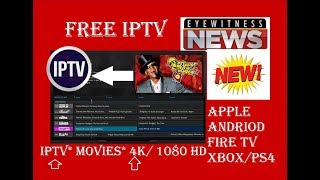 Free IPTV with Guide  1080  Movies  TV Shows