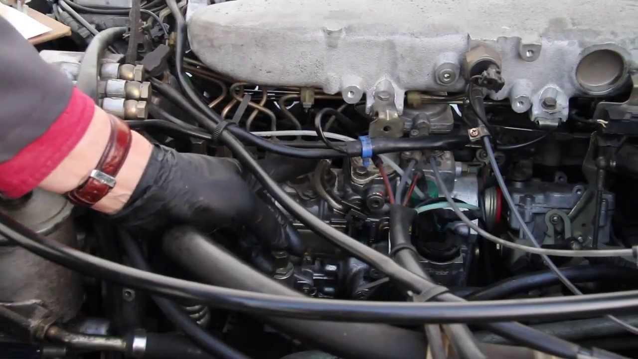 Mercedes Diesel Engine Won T Shut Off When Turning The Key