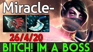 Miracle- [Templar Assassin] Bitch! Im a Boss @26Kill Dota2 7.04