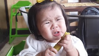 Babies Eating Pickles for the First Time Compilation 2015