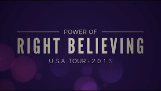 Joseph Prince - Power Of Right Believing Tour DVD Trailer
