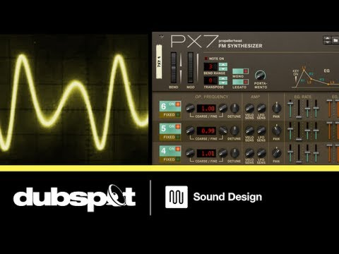 Dubspot First Look: The Propellerhead PX7 FM Synthesizer In Reason 6.5 w/ Chris Petti