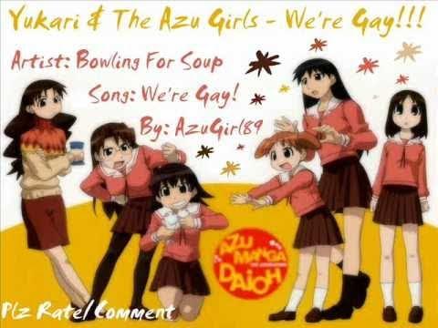 Yukari & The Azu-Girls - We're Gay!!!