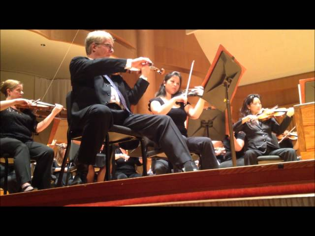 (partial) Scheherazade solo with Baltimore Symphony Orchestra Academy Week 2013