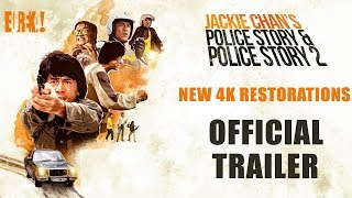 Jackie Chan's POLICE STORY + POLICE STORY 2 (Eureka Classics) Ltd Edition Box Set Trailer