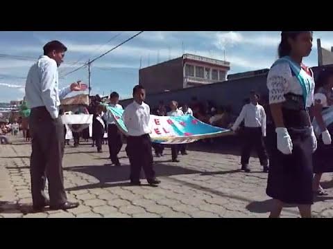 Desfile 15 de Septiembre 2012 San Juan Ostuncalco Primaria