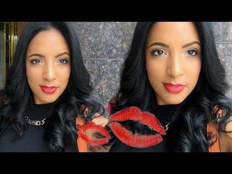 Classic Red Lip Makeup Tutorial | Canvas Fashions - South African Beauty Blogger