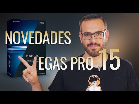 Novedades Vegas Pro 15