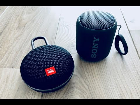 JBL Clip3 vs Sony XB10 Sound Comparison