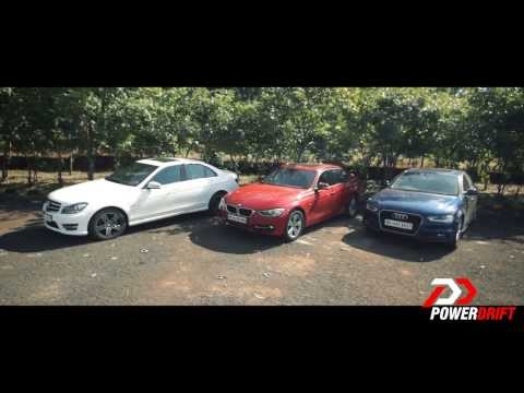 Audi A4 vs Mercedes Benz C class vs BMW 3 series : Review : PowerDrift