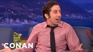 Simon Helberg's Creepy Adventures At Mommy & Me Yoga - CONAN on TBS