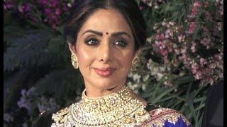 Sridevi Attends Anushka Sharma And Virat Kohli Reception In Mumbai