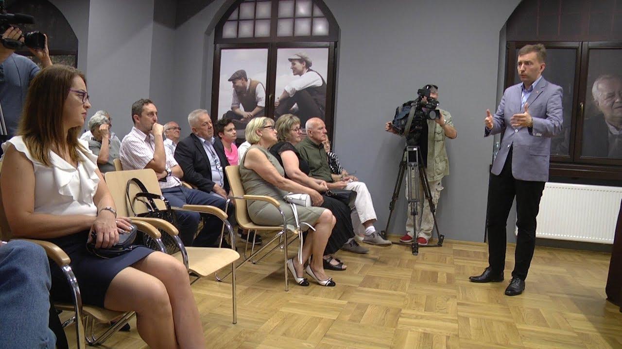 Łukasz Schreiber w Świętochłowicach