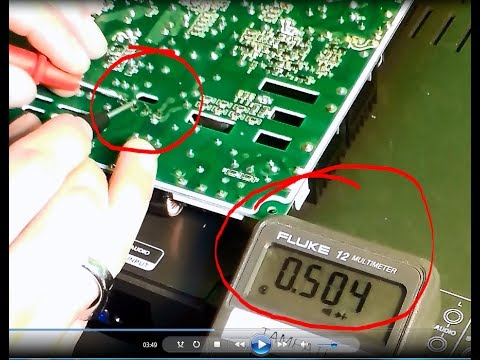 Easy way How to test Capacitors. Diodes. Rectifiers on Powersupply using Multimeter