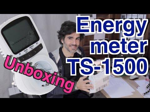 FLOUREON TS 1500 - Medidor potencia - Apertura, pretest y manual de uso