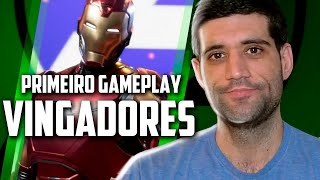 Primeiro video e gameplay do novo jogo da Marvel Vingadores