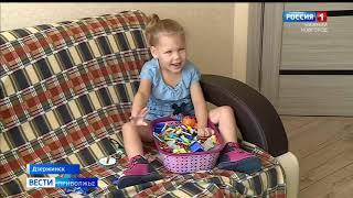 Алиса Шарова, 4 года, детский церебральный паралич, требуется курсовое лечение