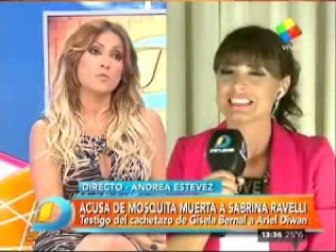 Fuerte cruce al aire entre Marina Calabró y Marcela Tauro