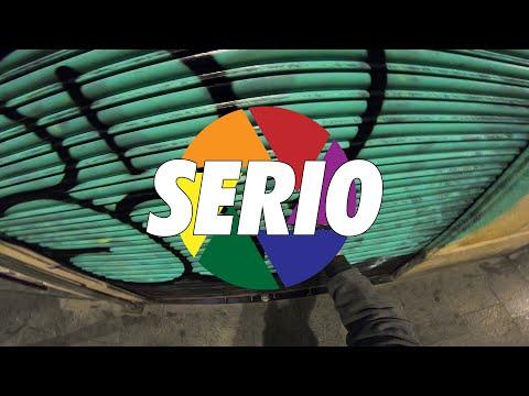 "Graffiti Bombing   SHUTTER SPEED ""SERIO"" (Barcelona, ES)"