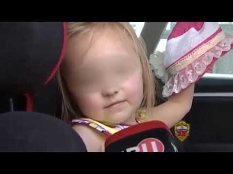 Родители оставили ребенка на жаре в машине