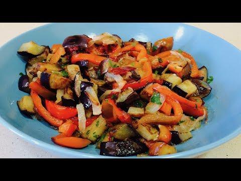 🌶САЛАТ ИЗ БАКЛАЖАНОВ🌶 ПОВЕРЬТЕ ЭТО ОЧЕНЬ ВКУСНО!!! Eggplant salad delicious