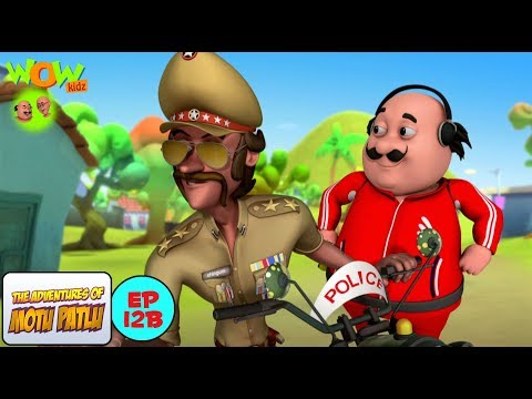 Motu The Alien - Motu Patlu in Hindi - 3D Animation Cartoon for Kids -As on Nickelodeon thumbnail