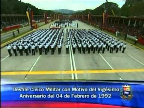 04 FEB 2012 Desfile Cívico-Militar del 20 Aniversario del 04 de Febrero de 1992