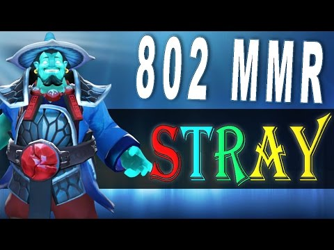 Dota 2 - STRAY228 играет на герое Storm Spirit [802 MMR 20.04.2016 DoubleMid vs Pudge]
