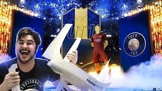 TIREI UM TOTY NO MELHORIA OURO! PACK OPENING FIFA 19 Ultimate Team