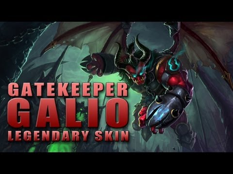 Gatekeeper Galio Legendary Skin