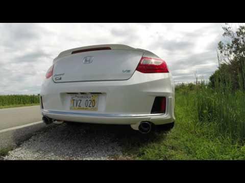 2015 Honda Accord Coupe V6-6MT Magnaflow catback exhaust