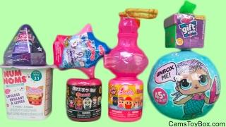 LOL Surprise Crystal Babies Shimmer Shine Teenie Genie Nom Noms Series 3 Barbie Fashems Toys