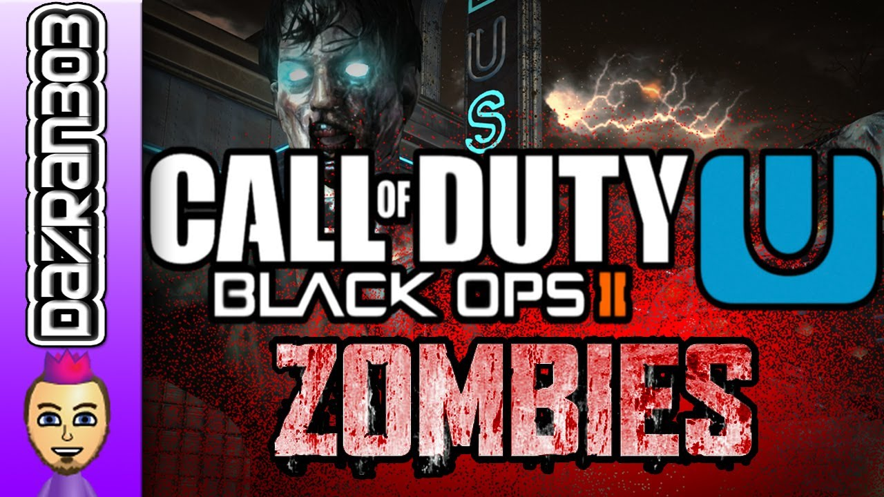 Wii U Black Ops 2 Zombies : Black ops zombies wii u cod bo wiiu online