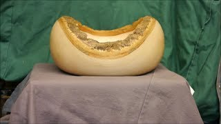 Natural Edge Ash Bowl # Part 1