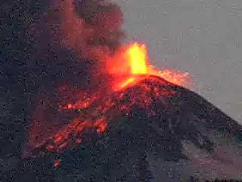 Volcan Llaima erupcion III