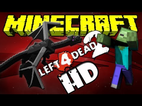 Minecraft + Left4dead2!!?? o.O  Mine4dead 2 Ultra HD