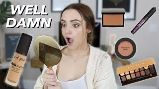 L.A Girl PRO MATTE HD FOUNDATION | Wear Test + MORE First Impressions