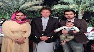 وینا ملک کی فیملی عمران خان کا ساتھ دینے بنی گالا پہنچ گئی