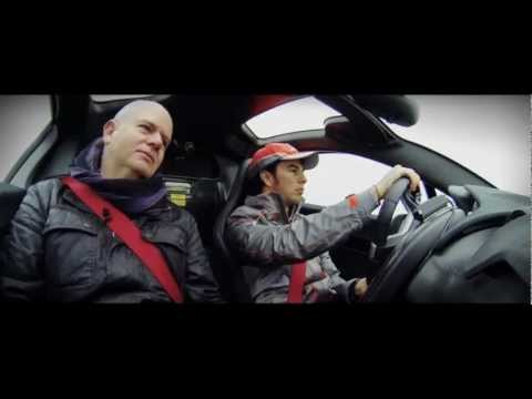 "Sergio ""Checo"" Perez test drives the McLaren P1™"
