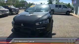 2015 Mitsubishi Lancer Bridgeport NY 2477