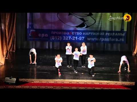 Хип-хоп от школы танцев DanceMasters