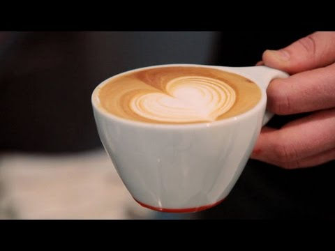 How To Make A Latte Art Heart Perfect Coffee Youtube