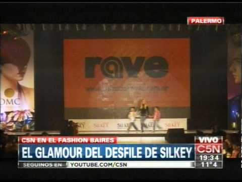 C5N - FASHION BAIRES: EL GLAMOUR DEL DESFILE DE SILKEY