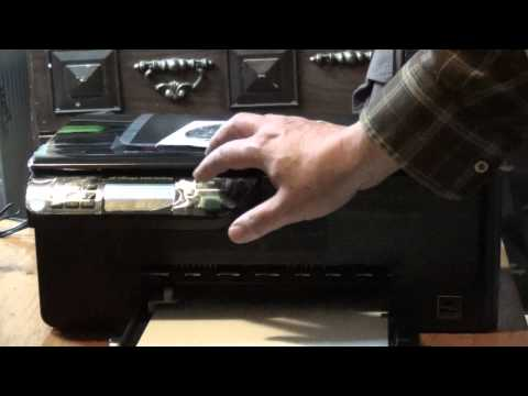 Unboxing HP Officejet 4500 Desktop Inkjet Printer Scanner Copier Fax