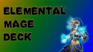 AWESOME Low-Cost Elemental Mage Deck | Hearthstone Perfect for F2P + Beginners