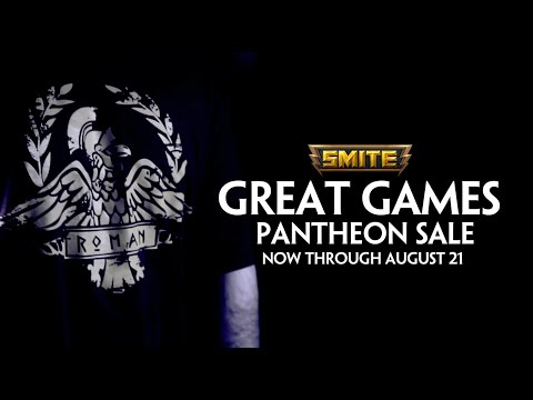 SMITE - Great Games Pantheon Sale (August 5th - August 21st)