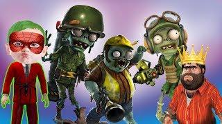Örümcek Çocuk ve Recep İvedik Plants vs Zombies Garden Warfare 2