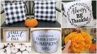 Shop With Me At Target & Hobby Lobby - Fall Decor, Home Decor, Back To School