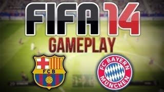 FIFA 14 EXCLUSIVE GAMEPLAY - FC Barcelona v FC Bayern Munich - 2nd Half