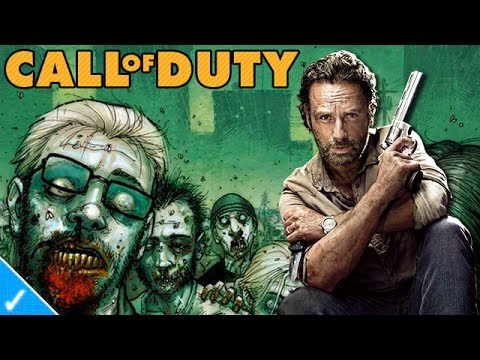 The Celeb Gamer - Rick Grimes plays Black Ops 2
